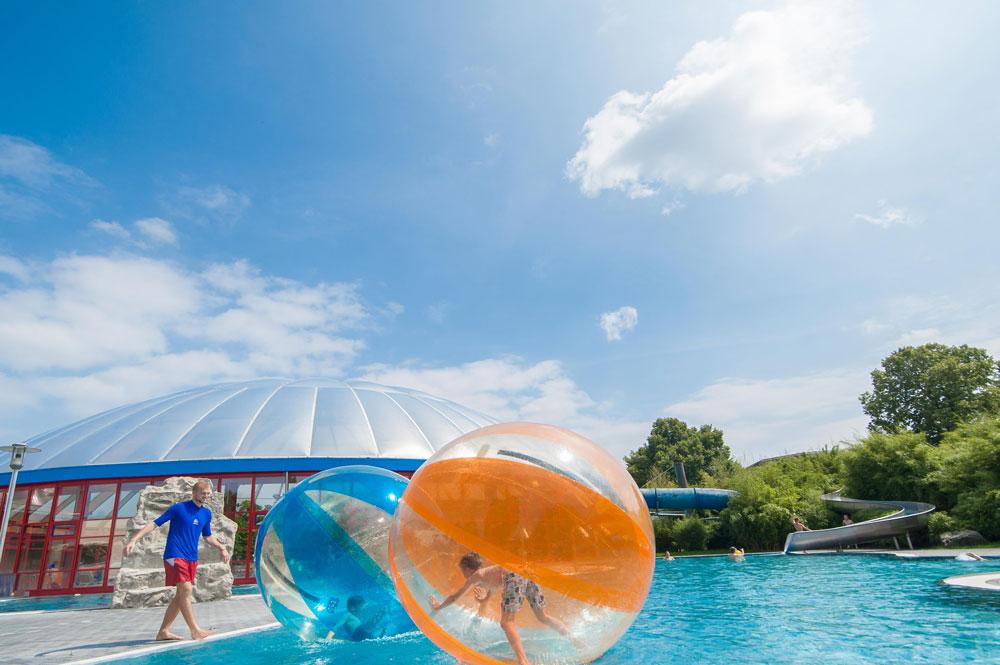 Aquazorbing – über das Wasser gehen… ein Traum wird wahr