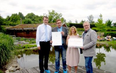 Höchste Auszeichnung für Atlantis Sauna