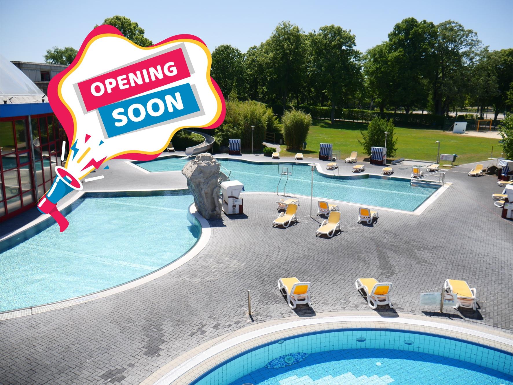 Teilöffnung Sportschwimmerbecken und Außenbereich am 02. Juni 2020