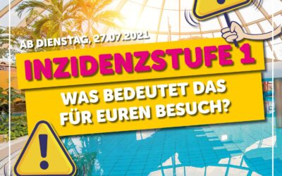 Inzidenzstufe 1 in NRW